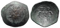Ancient Coins - Theodore I Comnenus-Lascaris (1208-1222). BI Aspron Trachy - Nicaea