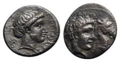 Ancient Coins - Thessaly, Gyrton, c. 400-350 BC. Æ