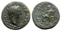 Ancient Coins - Trajan (98-117). Phrygia, Philomelium. Æ - L. Sergios Hephaistiôn, magistrate - RARE