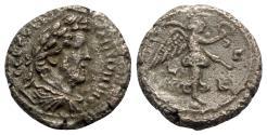 Ancient Coins - Antoninus Pius (138-161). Egypt, Alexandria. BI Tetradrachm - year 23 - R/ Nike