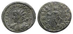 Ancient Coins - Maximianus (286-305). Radiate / Antoninianus - Lugdunum - R/ Hercules - RARE