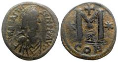 Ancient Coins - Anastasius I (491-518). Æ 40 Nummi - Constantinople