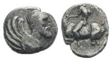 Ancient Coins - SICILY, Himera. Circa 425-409 BC. AR Litra