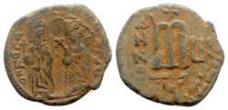 Ancient Coins - Phocas (602-610). Æ 40 Nummi - Antioch, year 6