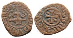 Ancient Coins - Cilician Armenia, Hetoum I (1226-1270). Æ Kardez