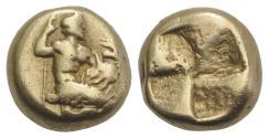 Ancient Coins - Mysia, Kyzikos EL Hekte. Circa 450-400 BC. VERY RARE