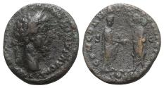 Ancient Coins - Marcus Aurelius (161-180). Æ As - Rome
