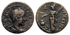 Ancient Coins - Gordian III (238-244). Pamphylia, Side. Æ - R/ Athena