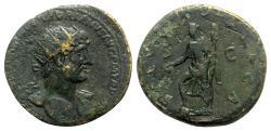 Ancient Coins - Hadrian (117-138). Æ Dupondius - Rome - R/ Salus