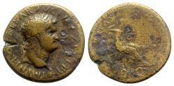 Ancient Coins - Nero (54-68). Æ Dupondius - Lugdunum - R/ Securitas
