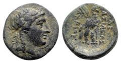 Ancient Coins - Seleukid Kings, Achaios (Usurper, 220-214 BC). Æ