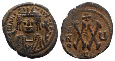 Ancient Coins - Maurice Tiberius (582-602). Æ 20 Nummi - Antioch, year 5
