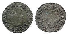World Coins - Italy, Papal State, Fano. Gregorio XIII (1572-1585). BI Quattrino