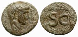 Ancient Coins - Claudius (41-54). Seleucis and Pieria, Antioch. Æ As
