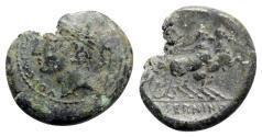 Ancient Coins - Samnium, Aesernia, c. 263-240 BC. Æ