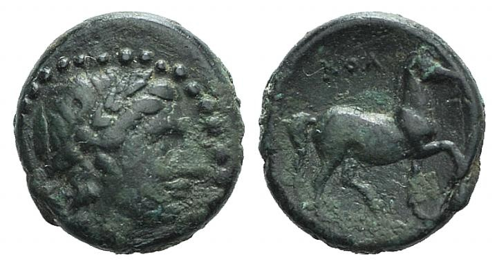 Ancient Coins - Ionia, Kolophon, 360-330 BC. AE 12mm