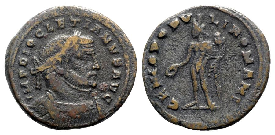 Ancient Coins - Diocletian (284-305). Æ Follis - Londinium