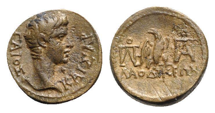 Ancient Coins - Gaius (Caesar, grandson of Augustus). Phrygia, Laodicea ad Lycum. Æ