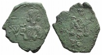 Ancient Coins - Justinian II (First reign, 685-695). Æ 40 Nummi. Syracuse mint.