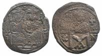 Ancient Coins - Constantine V Copronymus, with Leo IV. 741-775. Æ Follis. Constantinople mint. Struck circa 769-775.