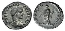 Ancient Coins - Geta (Caesar, 198-209). AR Denarius