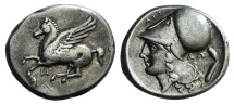 Ancient Coins - Akarnania, Anaktorion, c. 320-280 BC. AR Stater.