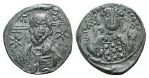 Ancient Coins - Michael VII Ducas. 1071-1078. Æ Follis. Constantinople mint.
