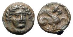 Ancient Coins - Troas, Gergis, c. 350-300 BC. Æ