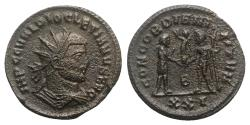 Ancient Coins - Diocletian (284-305). Æ Radiate - Cyzicus
