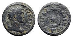 Ancient Coins - Phrygia, Eucarpeia. Pseudo-autonomous issue, 3rd century BC. Æ - Flaccus, magistrate