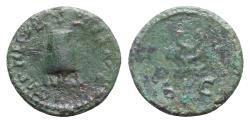 Ancient Coins - Nerva (96-98). Æ Quadrans - Rome - Modius / Caduceus