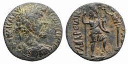 Ancient Coins - Marcus Aurelius (161-180). Decapolis, Gadara. Æ 22mm. R/ Tyche  RARE