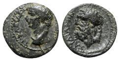 Ancient Coins - Claudius (41-54). Lydia, Sardis. Æ - R/ Herakles