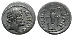 Ancient Coins - Lydia, Tabala. Pseudo-autonomous issue, late 2nd-early 3rd century AD. Æ - Demos / Artemis