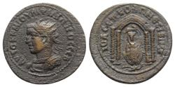 Ancient Coins - Philip II (247-249). Mesopotamia, Nisibis. Æ