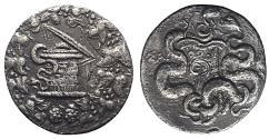 Ancient Coins - Lydia, Sardes, c. 166-67 BC. AR Cistophoric Tetradrachm