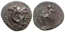 Ancient Coins - Pamphylia, Perge, c. 221/0-189/8 BC. AR Tetradrachm - In the name and types of Alexander III