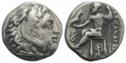 Ancient Coins - KINGS of MACEDON. Antigonos I Monophthalmos. As Strategos of Asia, 320-306/5 BC, or king, 306/5-301 BC. AR Drachm. In the name and types of Alexander III.