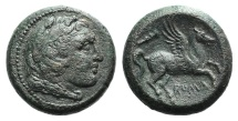 Ancient Coins - Anonymous, Rome, c. 235 BC. Æ 18mm