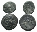 Ancient Coins - Lot of 2 Greek Æ coins, including Macedon, Alexander III and Moesia, Kallatis. to be catalog.
