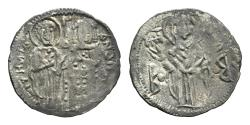 Ancient Coins - Andronicus III Palaeologus (1328-1341). AR Basilikon. Constantinople. VERY RARE