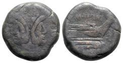 Ancient Coins - L. Licinius Murena, Rome, 169-158 BC. Æ As