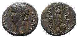 Ancient Coins - Germanicus, father of Gaius (Caligula), brother of Claudius (died AD 19). Lydia, Sardis. Æ