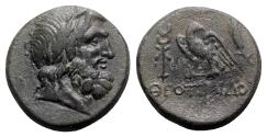 Ancient Coins - Lydia, Blaundos, c. 2nd century BC. Æ - Theotimos, magistrate