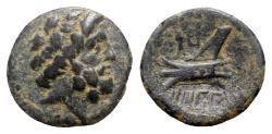 Ancient Coins - Phoenicia, Arados, c. 137-51 BC. Æ - Zeus / Prow