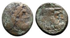Ancient Coins - Akarnania, The Oiniadai, c. 219-211 BC. Æ