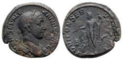Ancient Coins - Severus Alexander (222-235). Æ Sestertius - Rome - R/ Jupiter