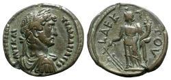 Ancient Coins - Hadrian (117-138). Egypt, Alexandria. BI Tetradrachm - year 10 - R/ Tyche