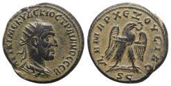Ancient Coins - Trajan Decius (249-251). Seleucis and Pieria, Antioch. Tetradrachm. AD 250-1. R/ Eagle