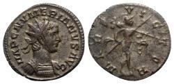 Ancient Coins - Numerian (283-285). Radiate - Lugdunum - R/ Mars